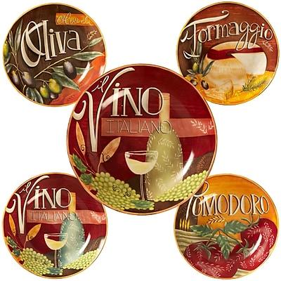 Certified International Bella Vita Pasta Bowl Set (Set of 5)