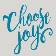 SweetumsWallDecals Choose Joy Wall Decal; Teal