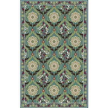 Mayberry Rug Brighton Turquoise Area Rug; 7'10'' x 9'10''