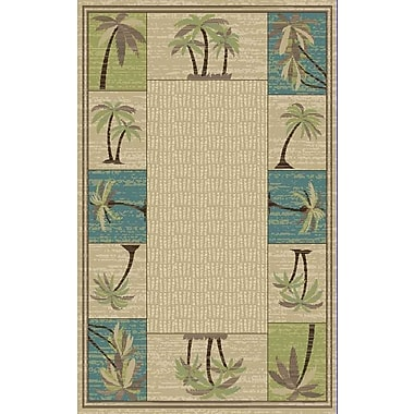 Mayberry Rug Brighton Beige Area Rug; 7'10'' x 9'10''