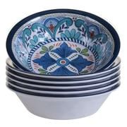 Certified International Talavera Heavy Weight Melamine Salad Bowl (Set of 6)
