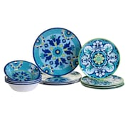 Certified International Granada 12 Piece Heavy Weight Melamine Dinnerware Set