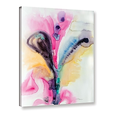 Latitude Run 'Flowing Energy' Graphic Art on Wrapped Canvas; 18'' H x 14'' W x 2'' D
