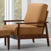 Kaleidoscope Furniture Bergen Arm Chair; Bombay Brown