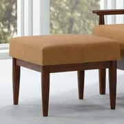 Kaleidoscope Furniture Bergen Ottoman; Bombay Brown