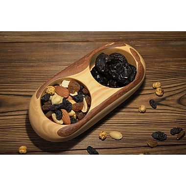 Pomegranate Solutions Olive Wood Candy/Nut bowl