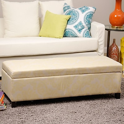 Red Barrel Studio Donahue Upholstered Storage Bench