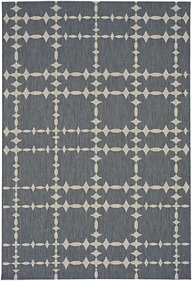 Capel Elsinore Tower Court Coal Indoor/Outdoor Area Rug; 3'11'' x 5'6''