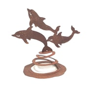 ZGardenParty Dolphins Spring Statue