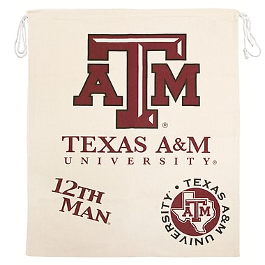 Great Finds Laundry Hamper; Texas A & M University