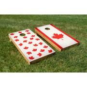 TheCornholeCrew O Canada, Eh? Cornhole Board