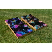 TheCornholeCrew Splatter Cornhole Board (Set of 2)