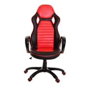 TimeOffice High-Back Desk Chair; Red