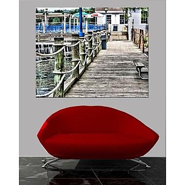 Wallhogs Batie's Boat House Glossy Poster; 19'' H x 24'' W