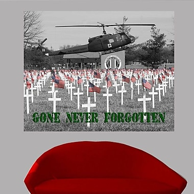 Wallhogs Batie's Gone Never Forgotten Glossy Poster; 38.5'' H x 48'' W