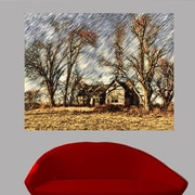 Wallhogs Batie's ''Abandoned House'' Glossy Poster; 37.5'' H x 48'' W