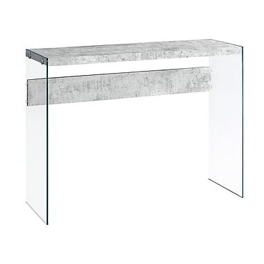 Monarch – Table console à effet de ciment I 3232, gris