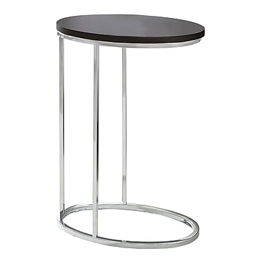 Monarch – Table d'appoint ovale, cappuccino, I 3242