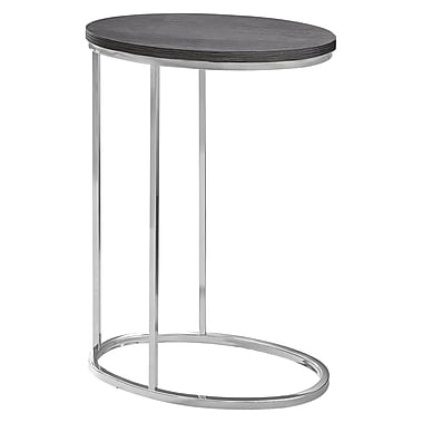 Monarch I 3243 Oval Accent Table, Grey