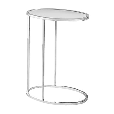 Monarch I 3245 Oval Mirror Accent Table