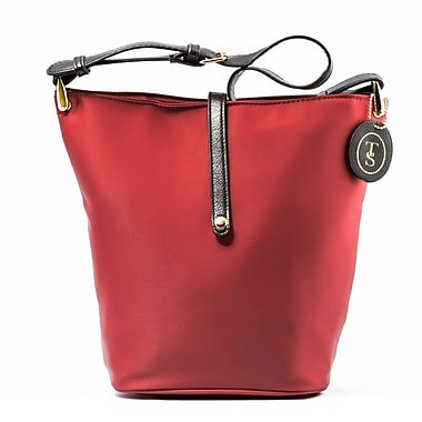 Think Stunning – Sac à lunch tendance pour dames, rouge