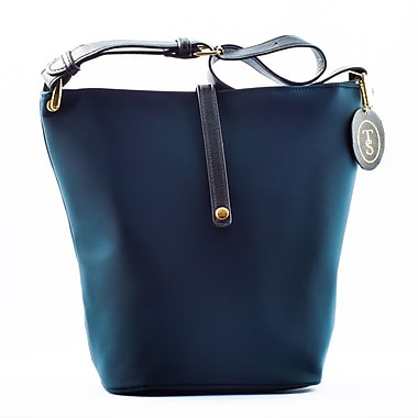 Think Stunning Fashionable Lunch Bag for Women, Navy Blue