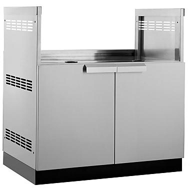 NewAge Products – Armoire de cuisine pour barbecue pour l'extérieur, acier inoxydable (65004)