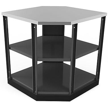 NewAge Products – Étagère de cuisine en coin pour l'extérieur, 90 degrés, aluminium poli (65206)