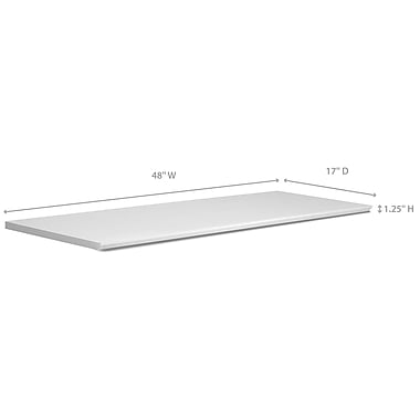 NewAge Products – Comptoir de la série Vin et Bar, 48 po, blanc (60015)