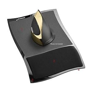 EvoluentWrist Comfort Mousepad, Gray/Black (MP1)