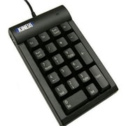 KinesisWired USB 2.0 Low Force Tactile Keypad, Black (AC210USB-BLK)