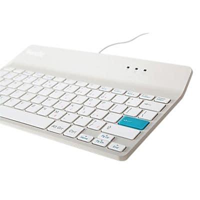 PenclicWired USB Mini Keyboard, White (C2W)