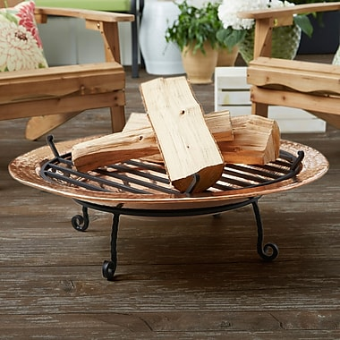 Good Directions Copper Charcoal Fire pit; Medium