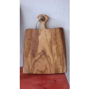 Pomegranate Solutions Olive Wood Broad Cutting Board