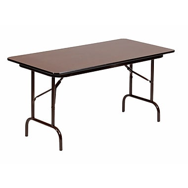Correll, Inc. 36u0027u0027 Rectangular Folding Table
