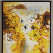 Hobbitholeco. Trees by Luna Framed Painting on Wrapped Canvas