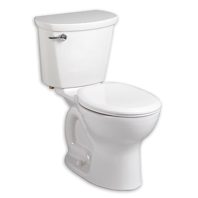 American Standard Cadet 1.6 GPF Round Two-Piece Toilet; White
