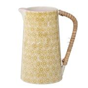 Bloomingville Yellow Ceramic Pitcher