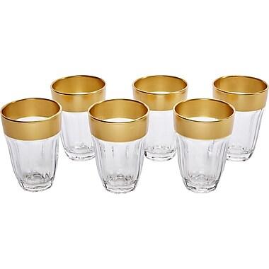 Circle Glass De'ore 7 oz. Juice Glass (Set of 6)