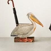 Creative Co-Op Tin Pelican Umbrella Stand