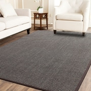 A1 Home Collections LLC Tiger Eye Brown Area Rug; 8' x 10'