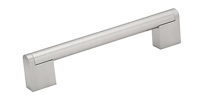 Richelieu 6 3/10'' Center Bar Pull; Stainless Steel