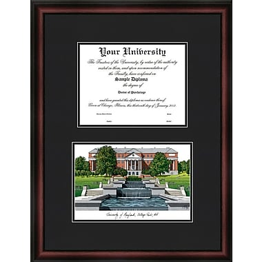 Campus Images NCAA Purdue University Legacy Scholar Diploma Picture Frame; Maryland University