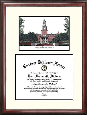 Campus Images NCAA Purdue University Legacy Scholar Diploma Picture Frame; University of North Texas
