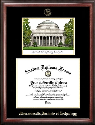 Campus Images NCAA MIT Diploma Picture Frame; MIT
