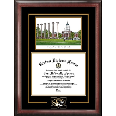 Campus Images NCAA Murray States Racers Spirit Graduate Diploma Picture Frame; Missouri Tigers