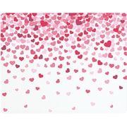 Vance Industries Valentine Hearts Confetti Surface Saver Tempered Glass Cutting Board