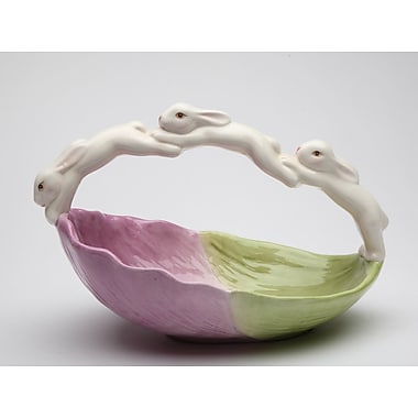 CosmosGifts Easter Bunnies Candy Dish