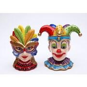 CosmosGifts Clowns 2-Piece Salt and Pepper Set
