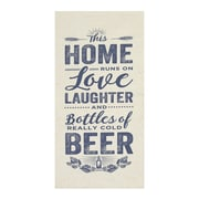 Stratton Home Decor Home, Love and Beer Textual Art